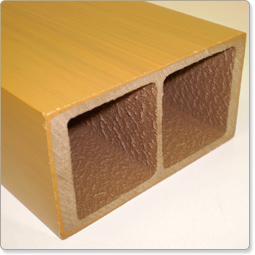 木樹脂デッキ/笠木、柱カバー