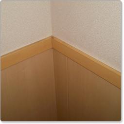 腰壁巾木/腰壁見切り